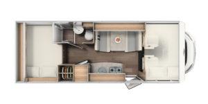 A 464 Grundriss Carado – Anaya Rheintal Reisemobile