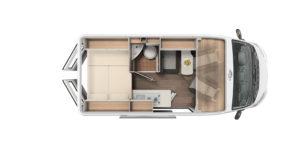CV 540 Grundriss Carado- Anaya Rheintal Reisemobile