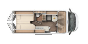 CV 640 Grundriss Carado- Anaya Rheintal Reisemobile