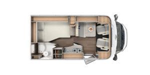 T 135 Grundriss Carado – Anaya Rheintal Reisemobile